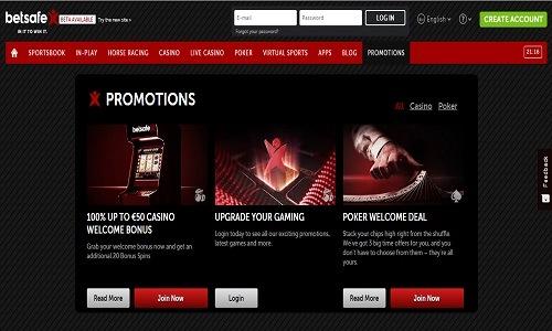Betsafe Casino screenshot