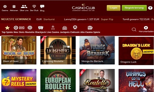 Casino Club screenshot