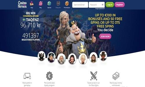 Casino Heroes screenshot