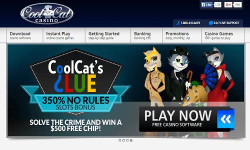 Cool Cat Casino screenshot