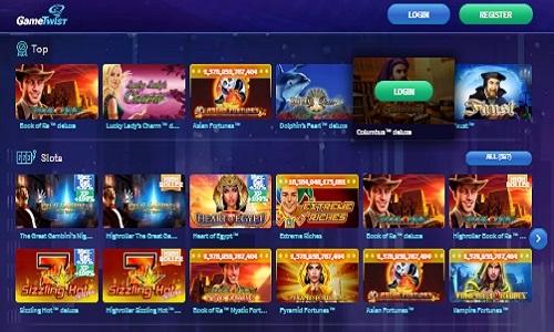 Gametwist screenshot