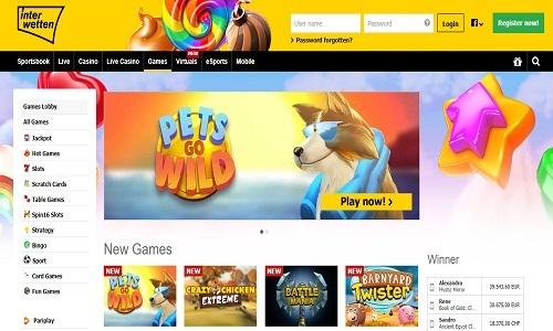 Interwetten Casino screenshot