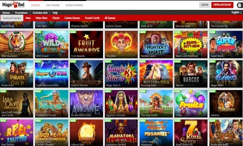 Magic Red Casino screenshot