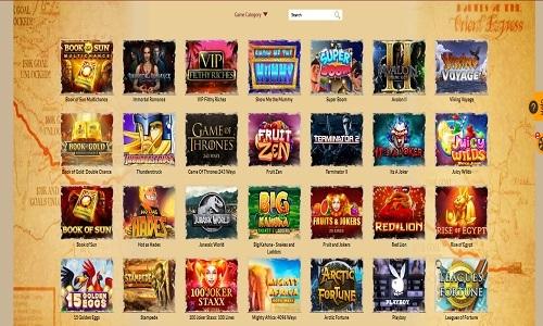 Orient Express Casino screenshot