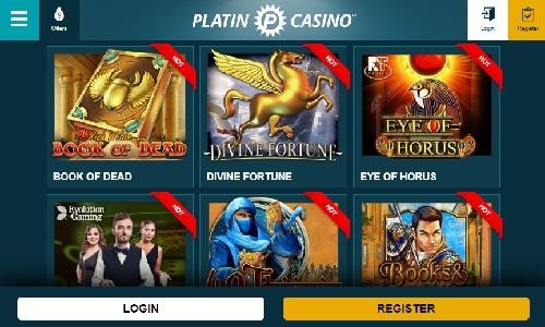 Spin Palace Casino screenshot