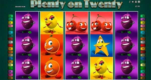 Plenty On Twenty II Hot Slot Machine