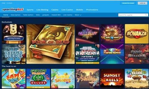 Sportingbet Casino screenshot