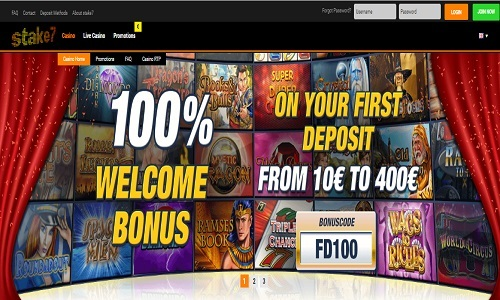 Stake7 Casino screenshot