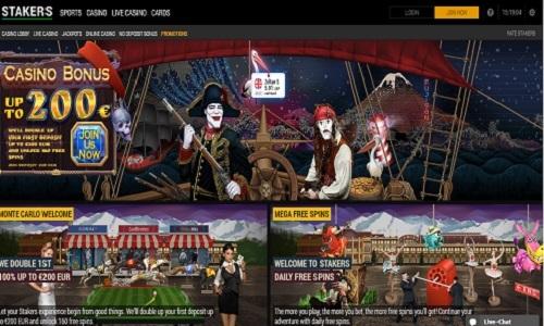 Stakers Casino screenshot