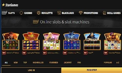 Star Games Casino screenshot