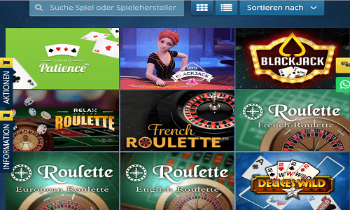 Sunmaker Casino screenshot