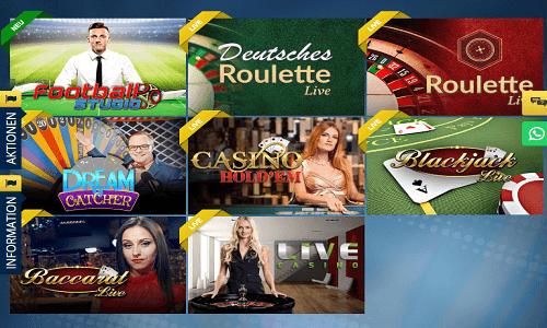 Sunmaker Casino screenshot