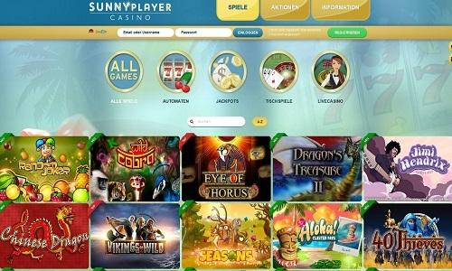 Sunnyplayer Casino screenshot