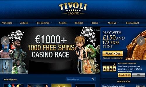 Tivoli Casino screenshot