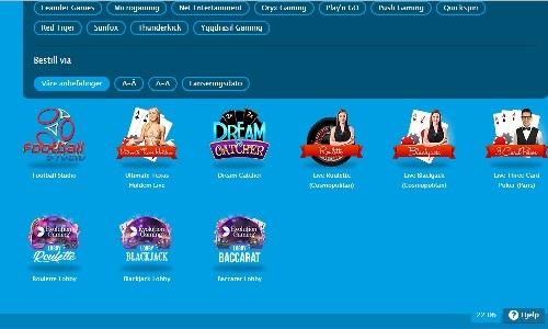Vera&John Casino screenshot