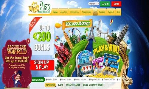 WinsPark Casino screenshot