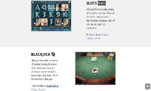 Zodiac Casino Bewertung