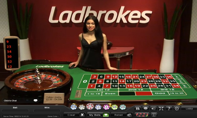 Ladbrokes Casino screenshot